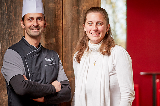 Hervé et Dorothée Dupont restauration