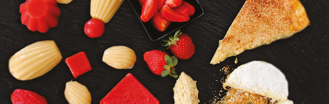 Plateau desserts et fruits