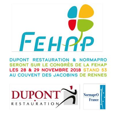 FEHAP_DUPONT&NORMAPRO AU CONGRES 28&29 NOV 2019