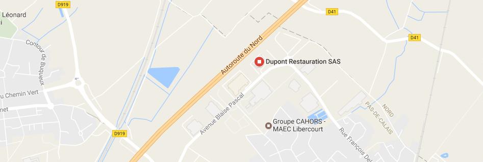 Accès Dupont restauration Libercourt