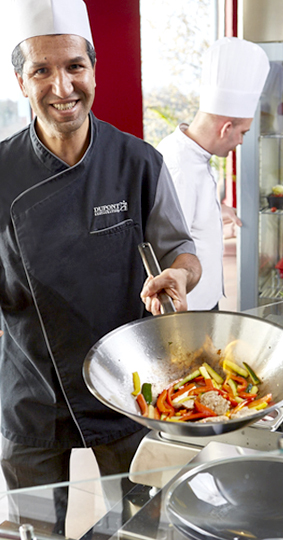 Cuisinier restaurant entreprise